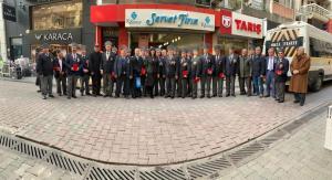 Türkiye Muharip Gaziler Derneği Karşıyaka Şubesi Ziyareti (13.01.2020)